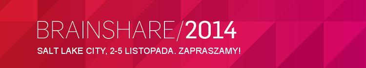 Konferencja BrainShare 2014